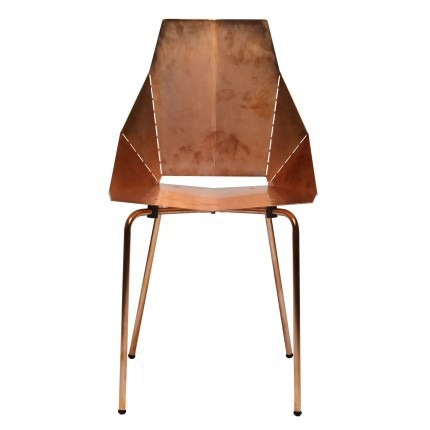 Blu Dot Real Good Copper Chair on @SavvyHome