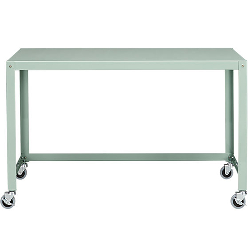 Go Cart Mint Rolling Desk • on @SavvyHome