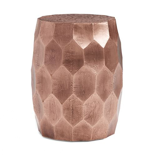 Pottery Barn Vince Metal Stool • Shop on @SavvyHome